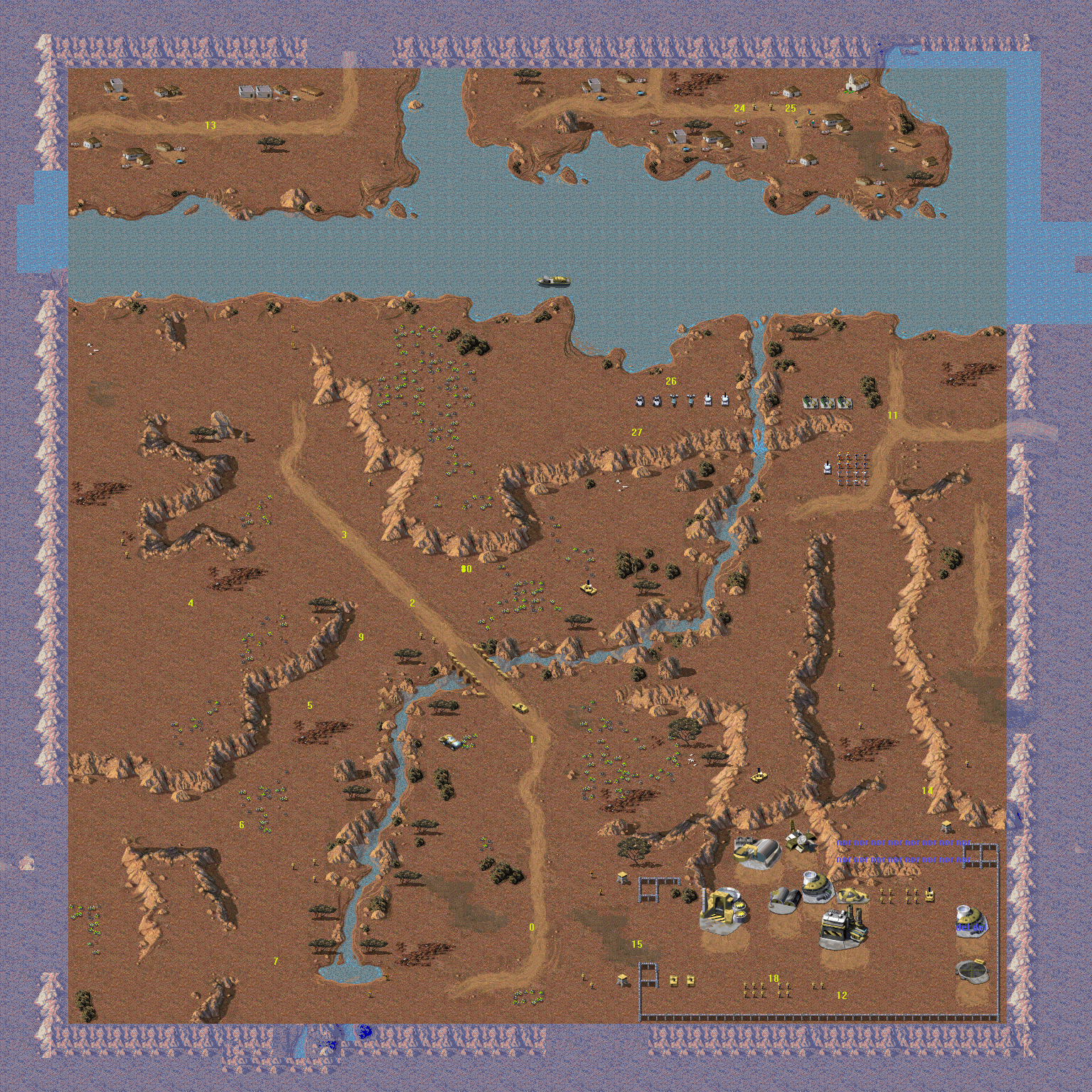 C&C TD - Map Remakes CHOOSE! - GameReplays org